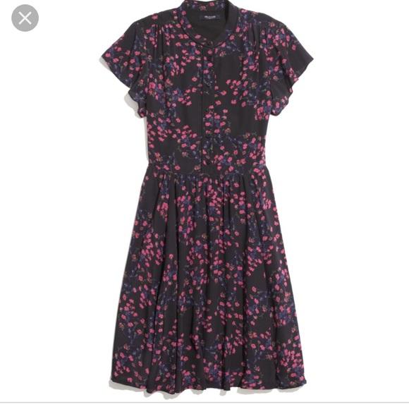 a7f28633e0 Madewell Dresses   Skirts - Madewell will dress night orchid ...